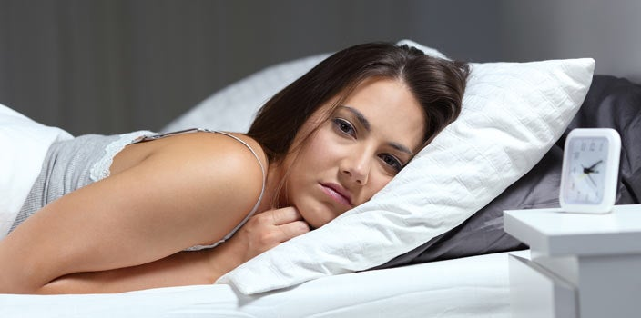 Restless night during cancer treatment