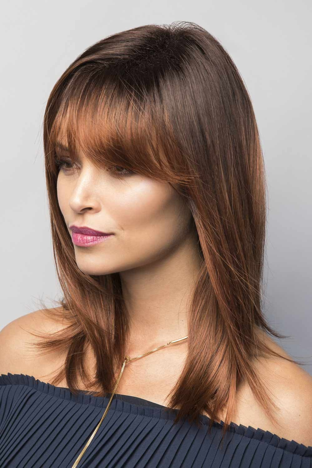 Seville by Noriko Wigs - Red Auburn Balayage Wig Color