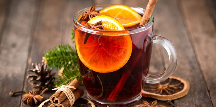 Non-alcoholic holiday drinks for cancer patients