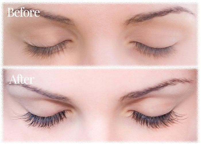 before-after-false-eyelashes