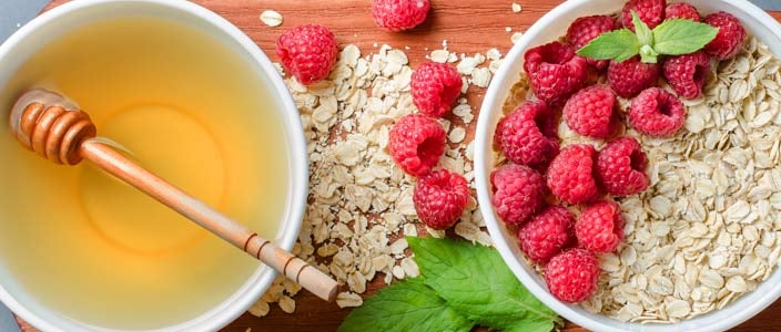 Healthy Easy Rasberry Oatmeal to Fight Cancer