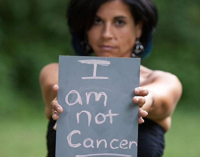 The problem with breast cancer awareness month: I am not cancer