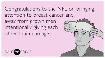Breast cancer memes: NFL breast cancer awareness