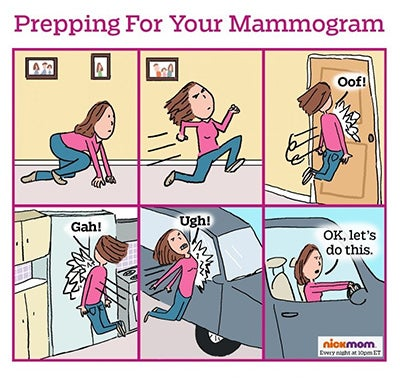breast cancer memes: prepping for your mammogram