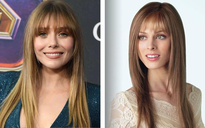 Elizabeth Olsen Long Hair - Stevie by Amore Wigs