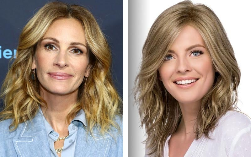 Julia Roberts Beach Waves - Avalon by Estetica Designs Wigs