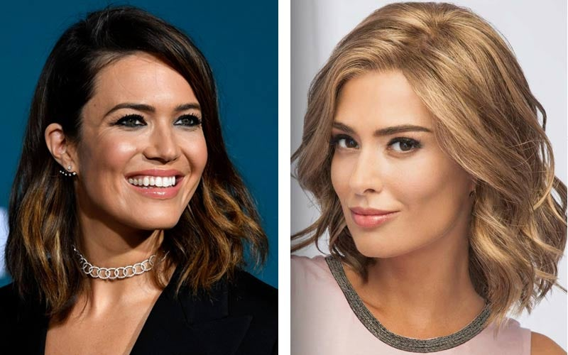 Mandy Moore Beach Waves - Soft and Subtle by Eva Gabor Wigs