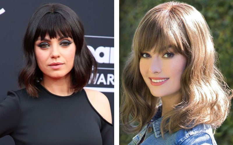 Mila Kunis Bangs - Ryder by Amore Wigs