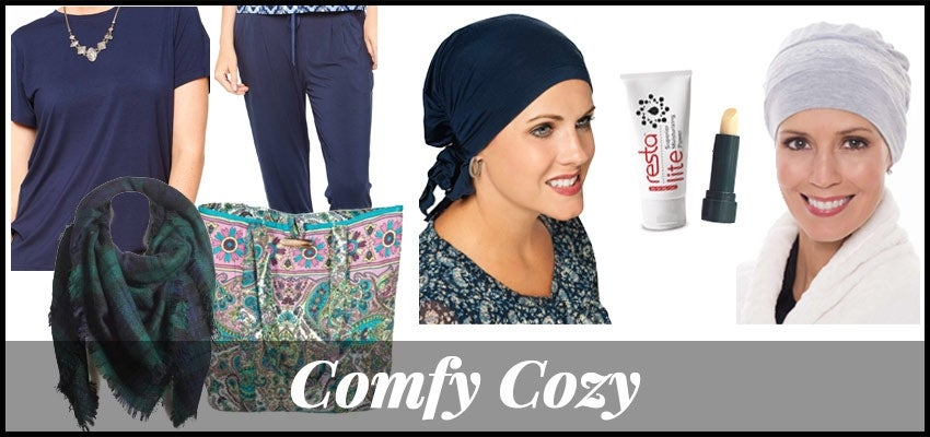comfy cozy chemo care package