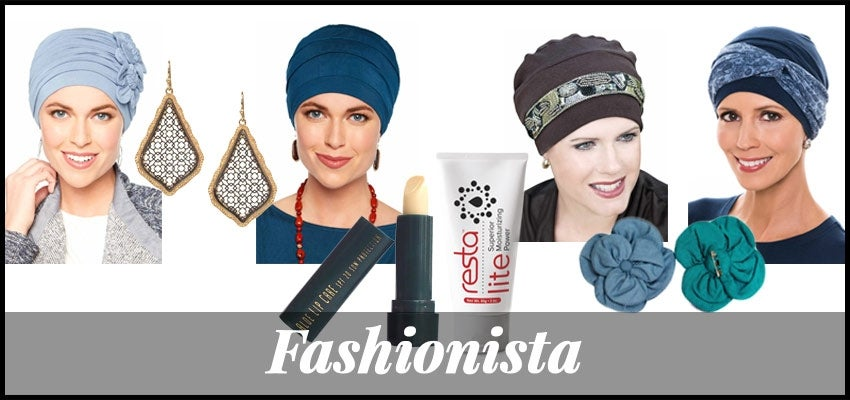 stylish fashionista chemo care package
