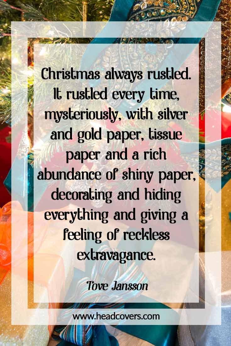 Inspirational Christmas Quotes - Tove Jansson