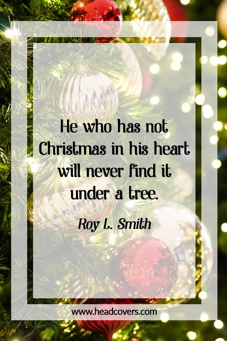 Inspirational Christmas quotes - Roy L. Smith
