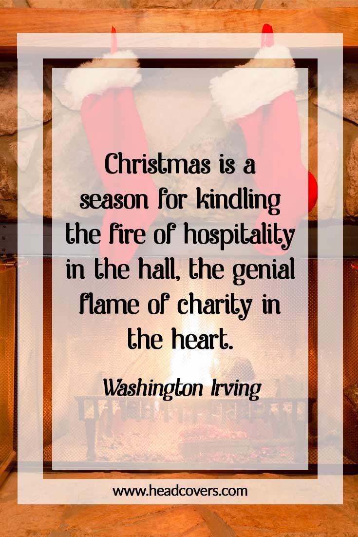 Inspirational Christmas quotes - Washington Irving