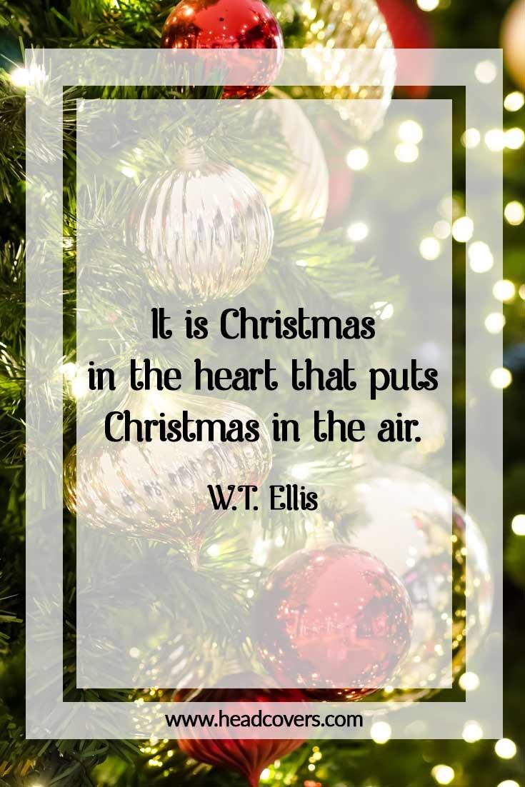 Inspirational Christmas quotes - W.T. Ellis