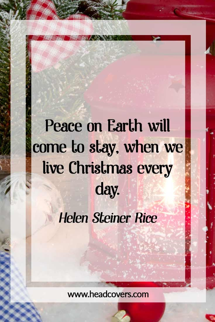 Inspirational Christmas quotes - Helen Steiner Rice