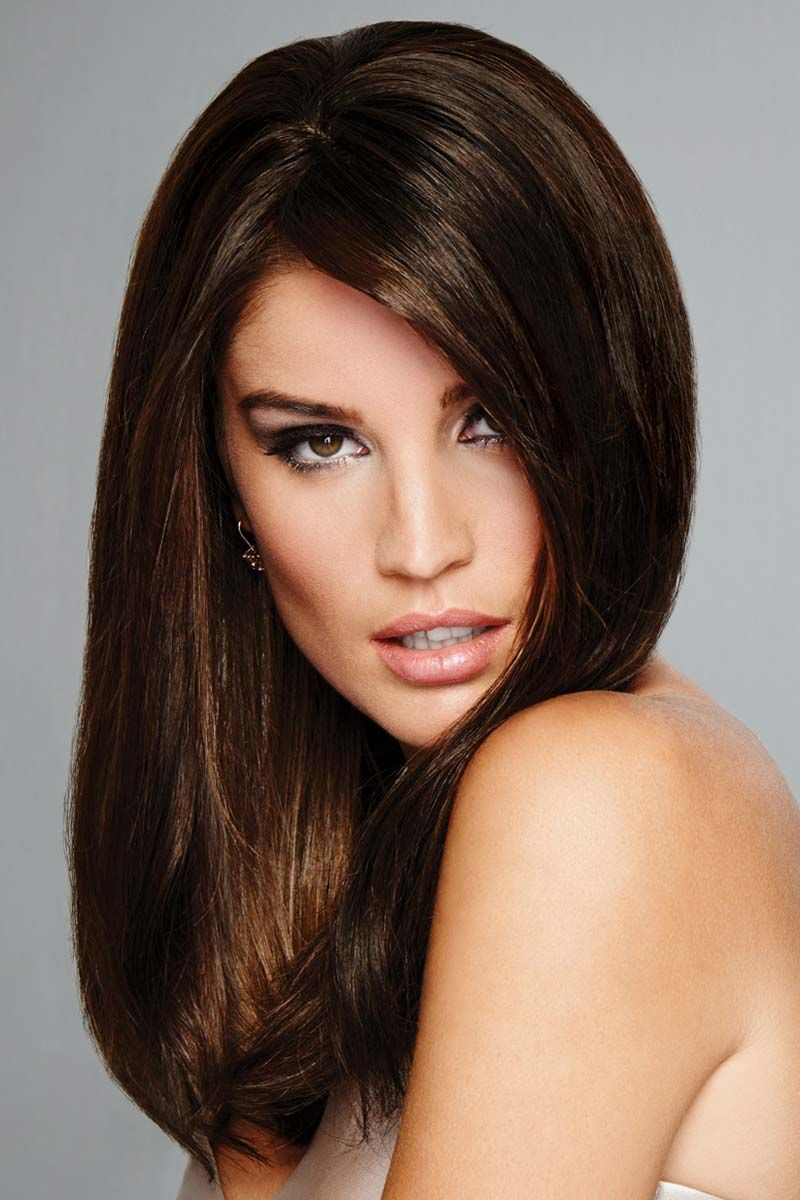 Human Hair Topper for Women Indulgence by Raquel Welch
