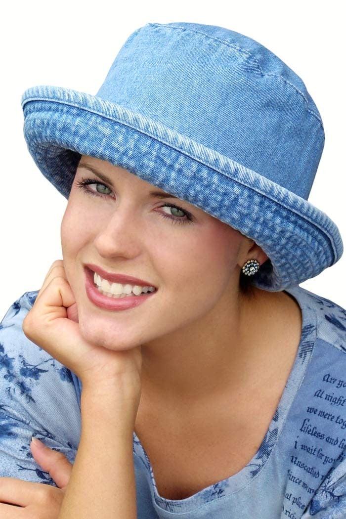 denim-bucket-hat-cancer-chemo-hairloss-hat