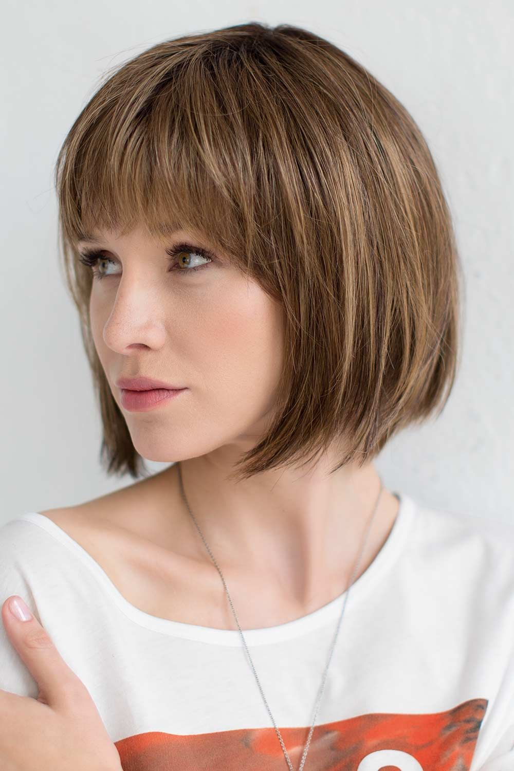 Change by Ellen Wille Wigs - Rooted Brown/Blonde Wig Color