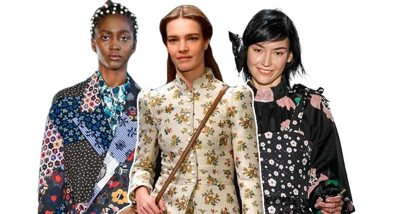 Fall Winter 2020 Trends: Floral Prints