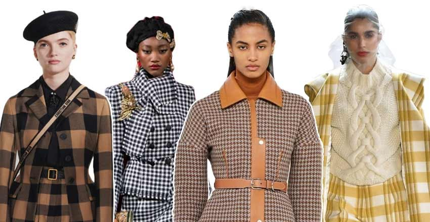 Fall Winter 2020 Trends: Plaid