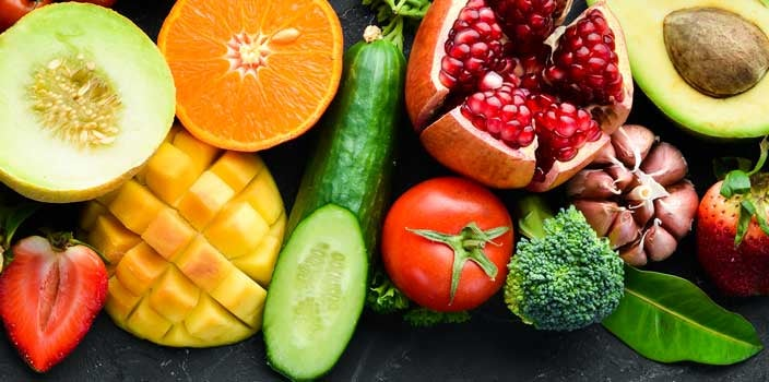 fruit and vegetables for smoothies for cancer patients