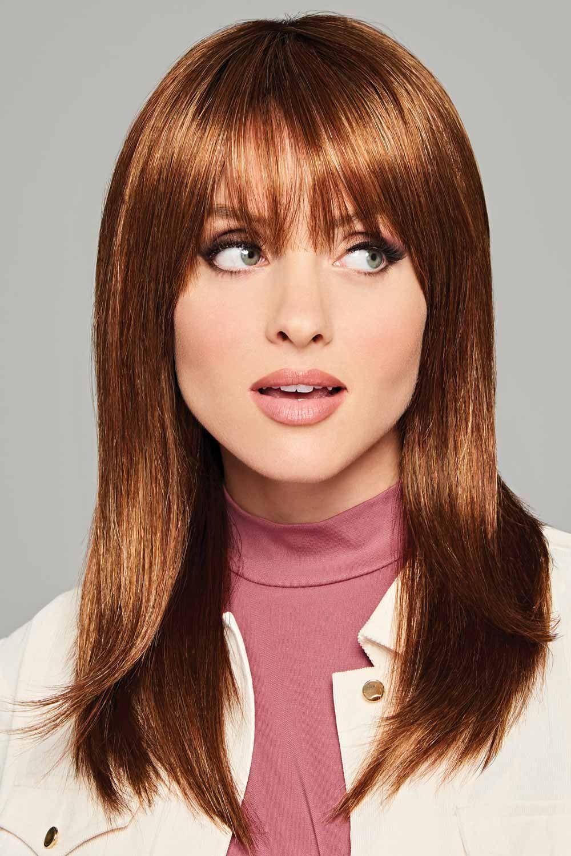 Trending Tresses by Eva Gabor Wigs - Fiery Auburn Wig Color