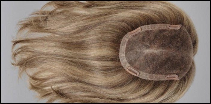 How to Put On a Half Wig - Ellen Wille Topper