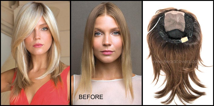 Why Wear a Half Wig - Milan by Noriko Wigs