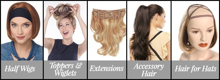 Types of Half Wigs