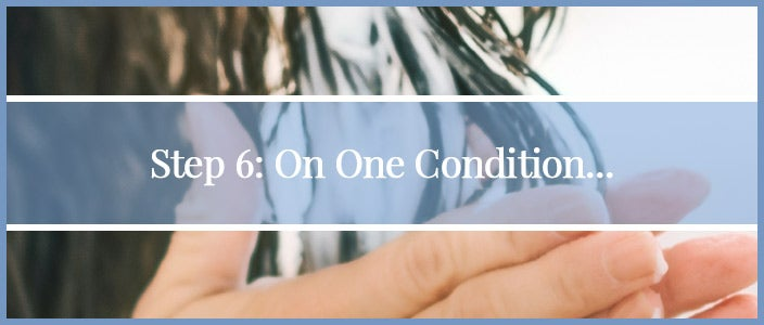How to Wash a Synthetic Wig Step 6: Condition