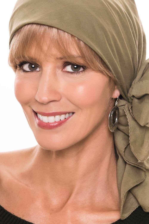 alternative hat with a wig cardani human hair bangs
