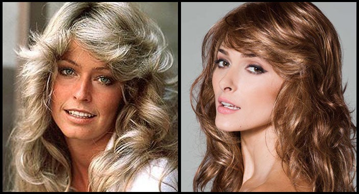 Farrah Fawcett hair - Felicity by Rene of Paris Wigs