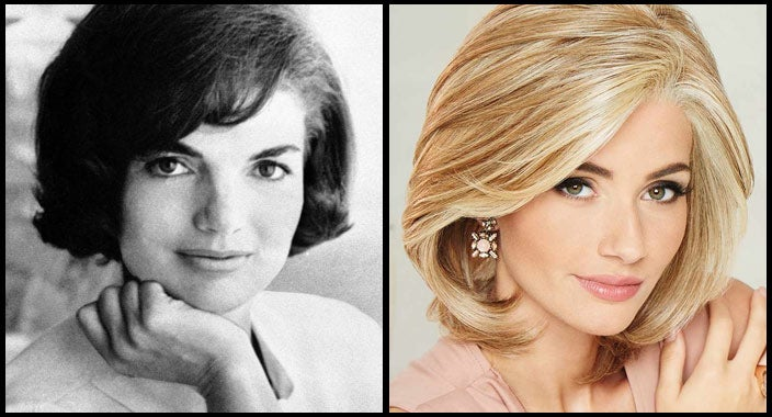 Jacqueline Kennedy Onassis hair - Upstage by Raquel Welch Wigs