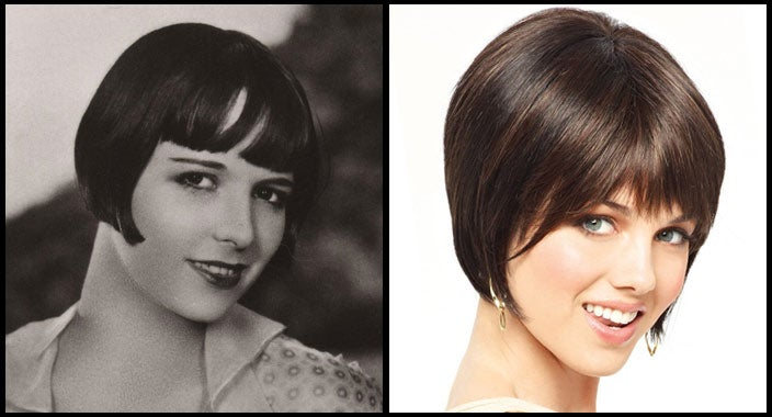 Louise Brooks Hair - Natasha by Amore Wigs