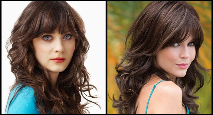 Zooey Deschanel hair - Avery by Noriko Wigs