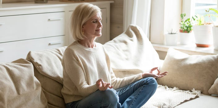 do things to keep stress in check to help boost immune system