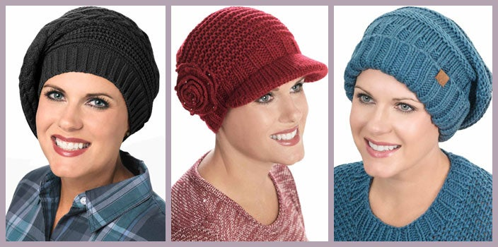 Hat knitting patterns for cancer patients