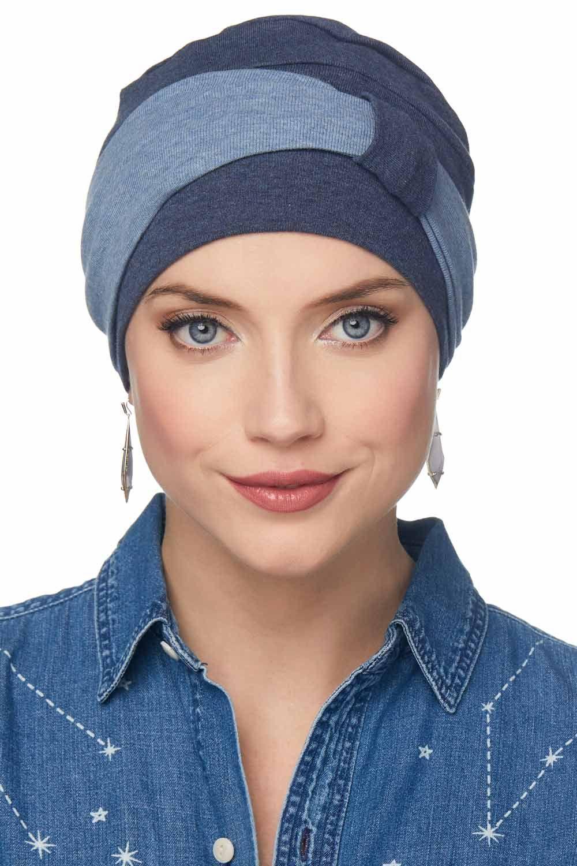 Madison Two Tone Chemo Turban Set