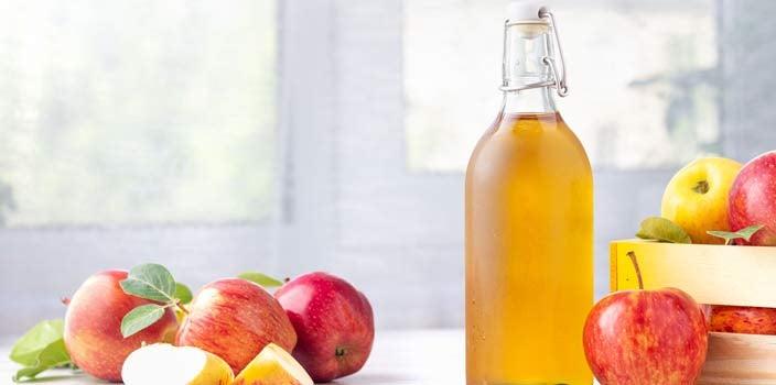 Apple cider vinegar is sometimes used on wigs.