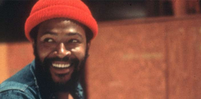 Marvin Gaye Red Beanie