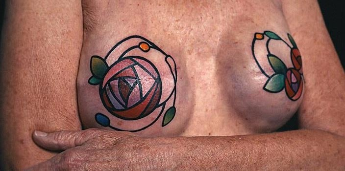 21 Mastectomy Tattoos You Have To See Headcovers