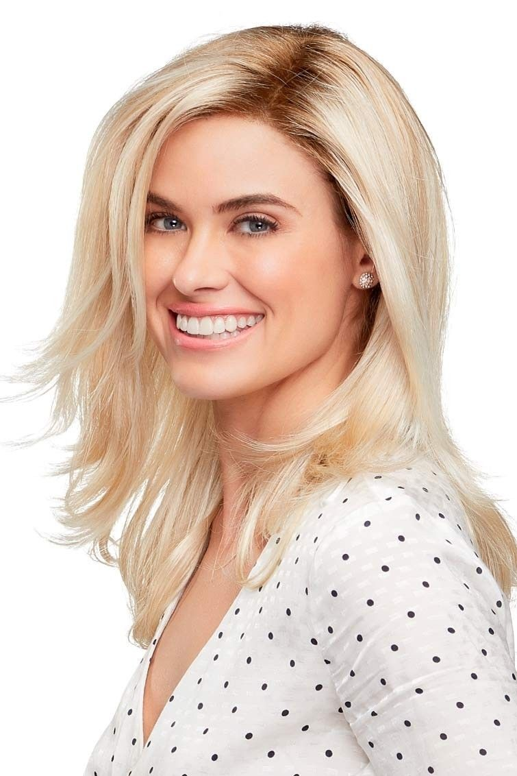 Miranda by Jon Renau Wigs - Rooted Butter Blonde Wig Color