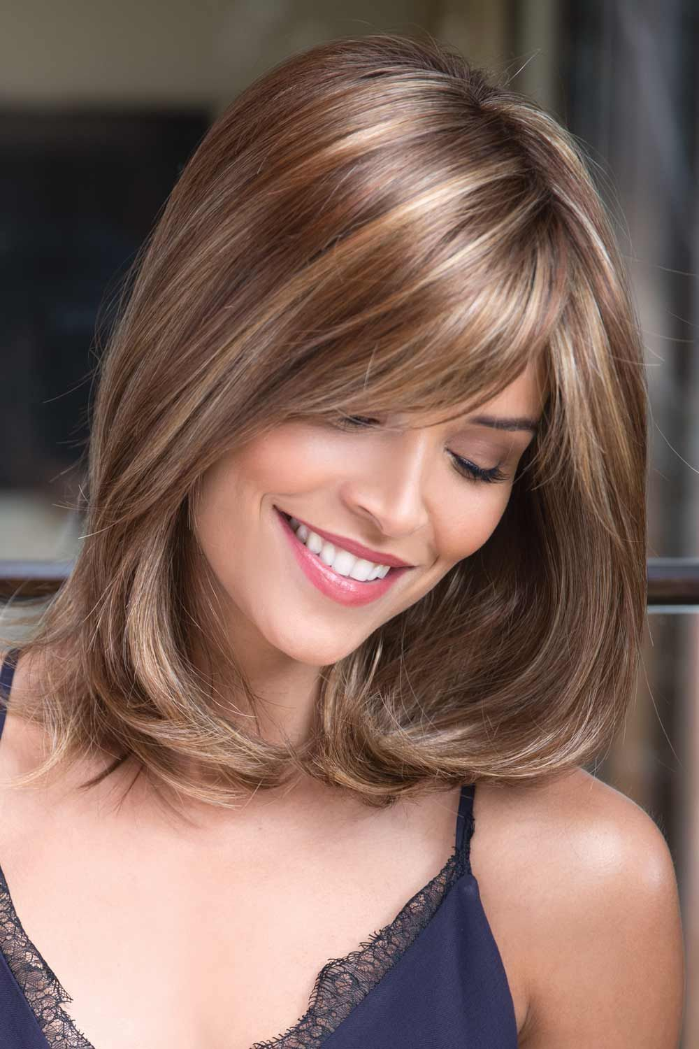 Kenzie by Noriko Wigs - Chunky Highlights wig color