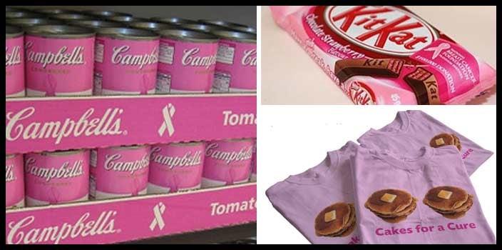 Breast cancer awareness month - pinkwashing