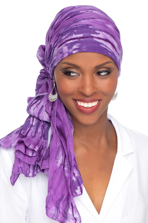 Oblong Batik Headwrap Jewel Tone Trend