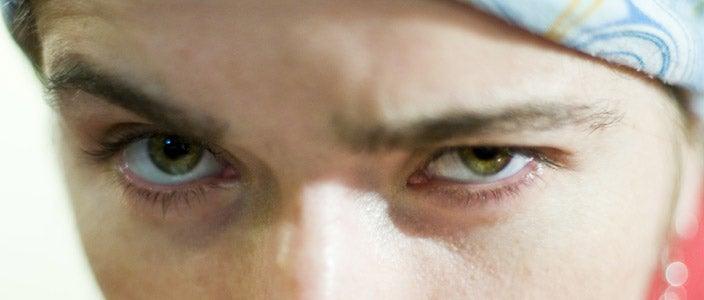 Why do we raise one eyebrow?