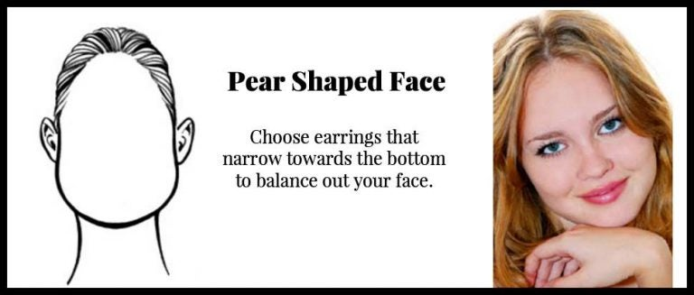 pear shaped face