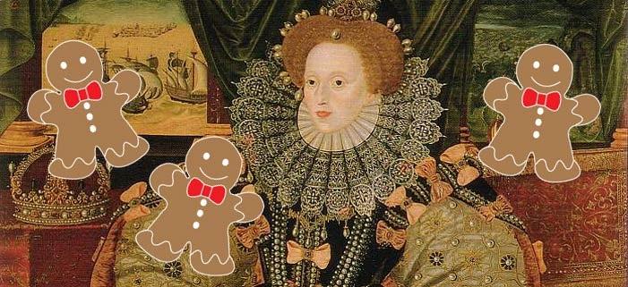 Queen Elizabeth Gingerbread