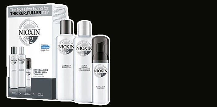 Scalp care during chemo - Nioxin Scalp Care System