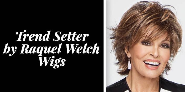Layered short hair with bangs - Trend Setter by Raquel Welch